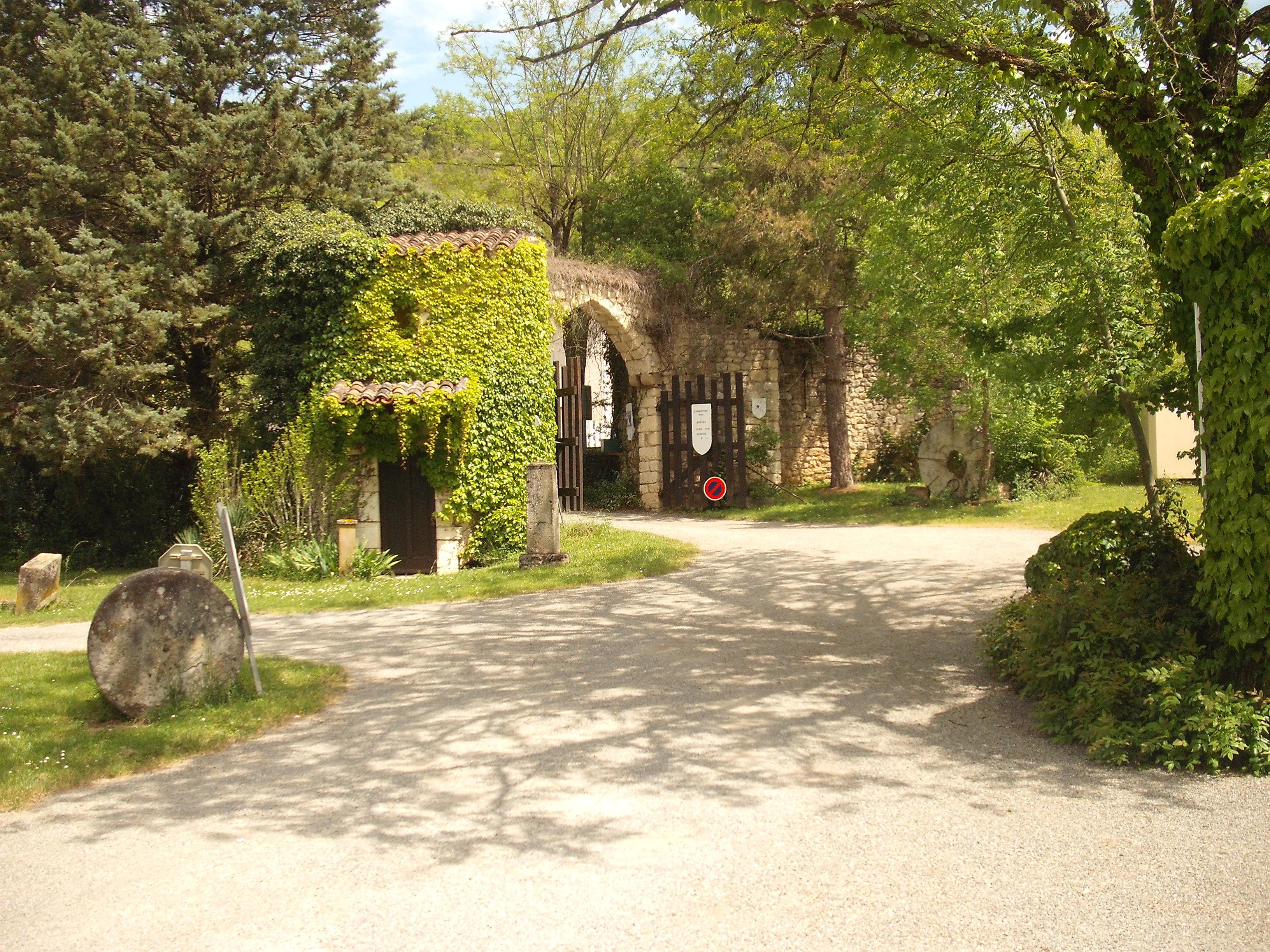 entrée Camping Moulin de Julien