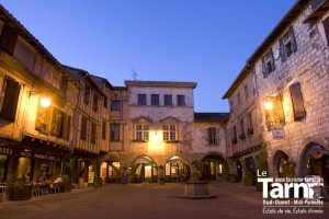 Castelnau-de-Montmiral @Tourisme-Tarn