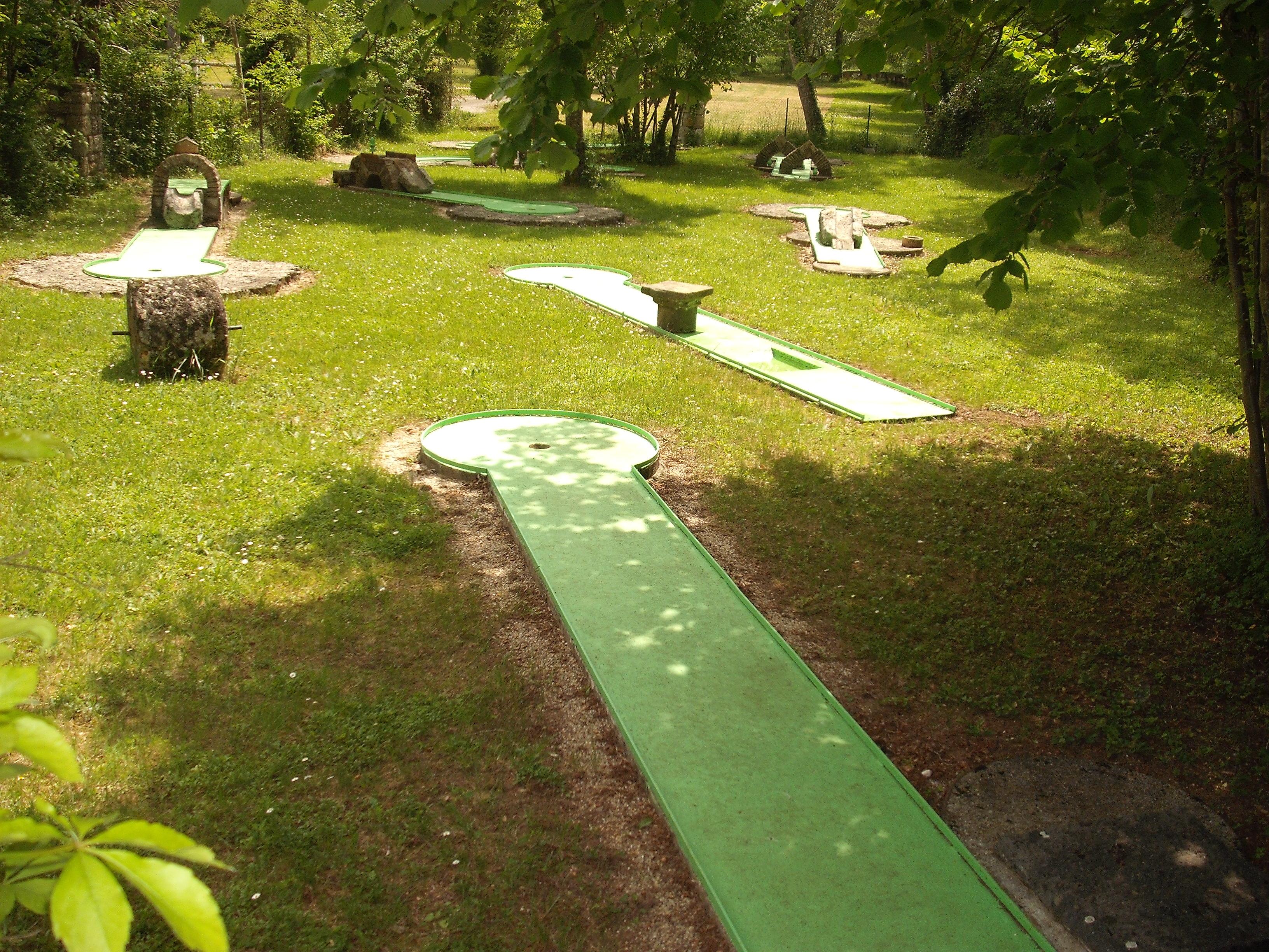 mini-golf Camping Moulin de Julien