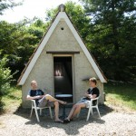 Hutte Location Camping Tarn Nature