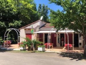 Réception et terrasse